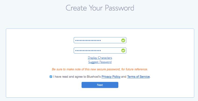 Password Step 2